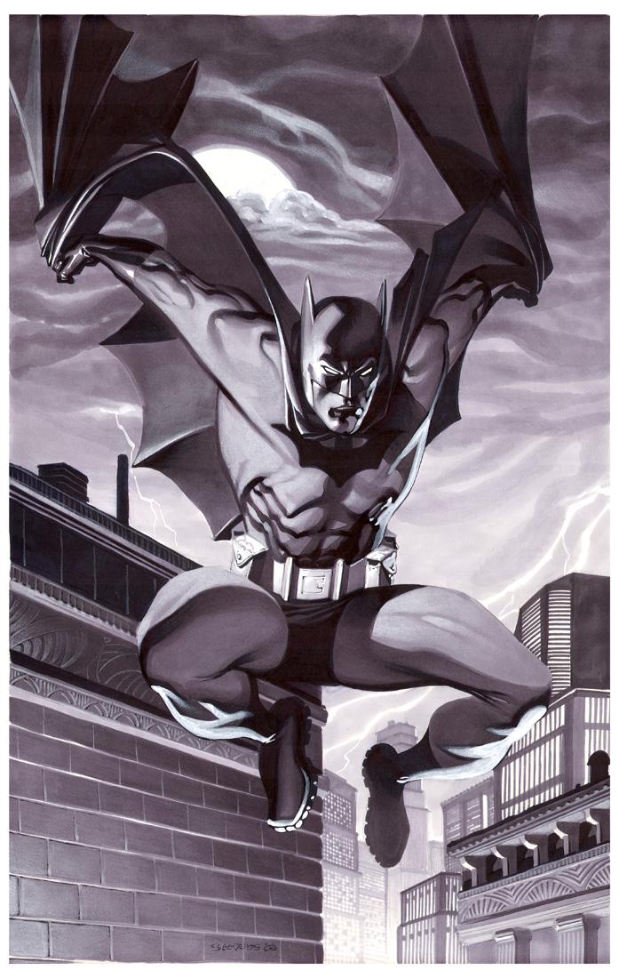 Batman- Marker Illo