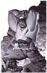 Incredible Hulk- Marker Illo by ChristopherStevens