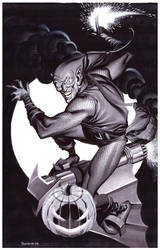 Green Goblin- Marker Illo