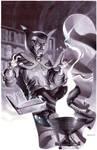 Dr Strange- Marker Illo by ChristopherStevens