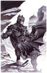 Medieval Fantasy Batman by ChristopherStevens