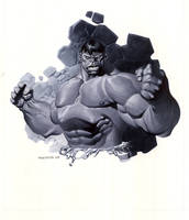Hulk bust by ChristopherStevens