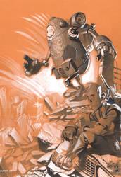 Bot and Lenny by ChristopherStevens