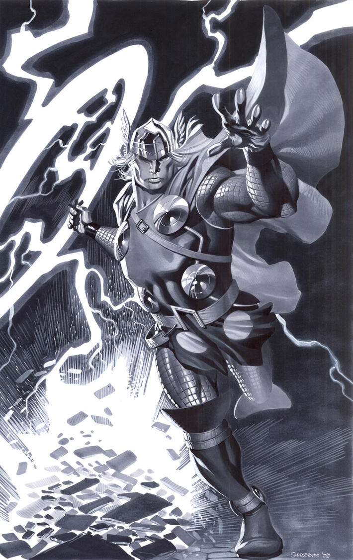 Modern Thor by ChristopherStevens
