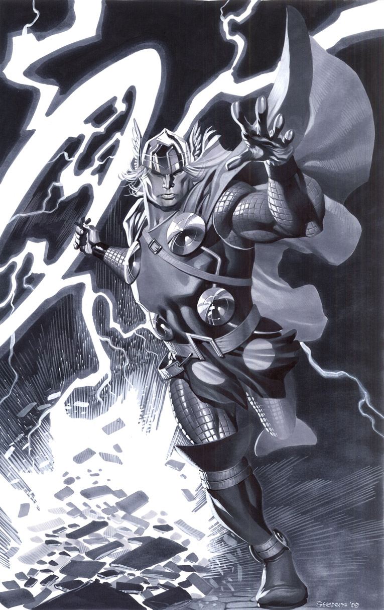 Modern Thor by ChristopherStevens