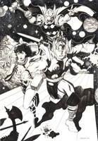 Defending Asgard by ChristopherStevens