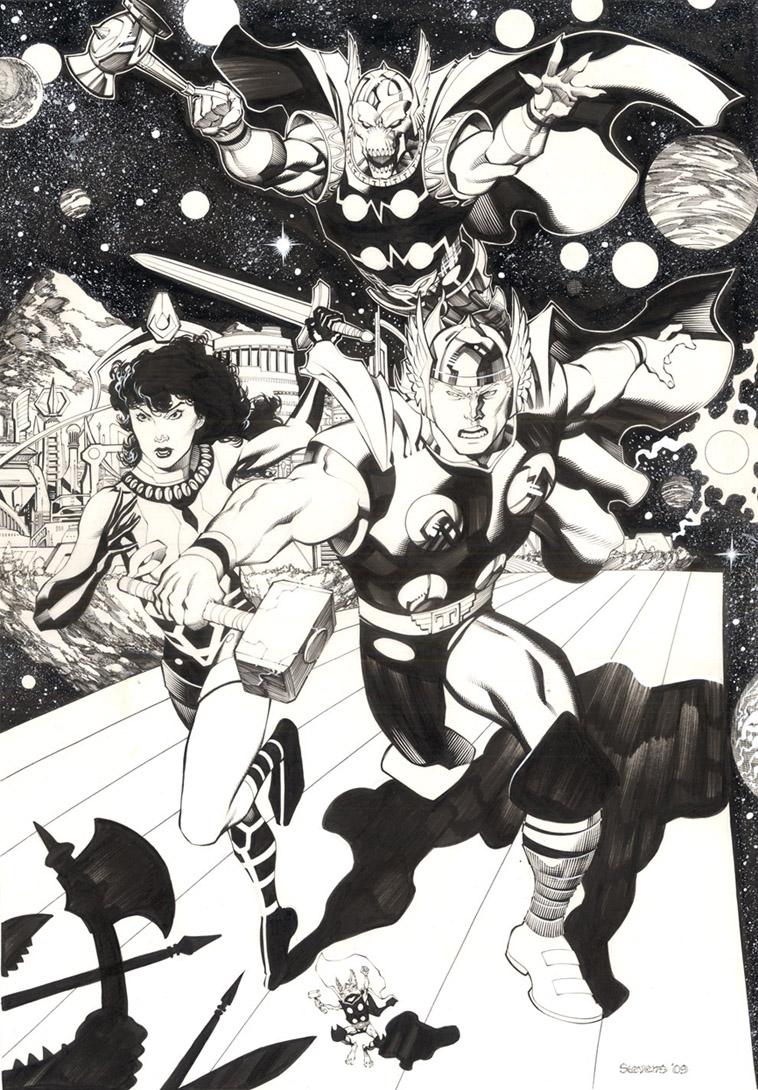 Part 14 / 9 Defending_Asgard_by_chriss2d