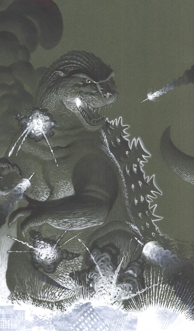 Godzilla by ChristopherStevens