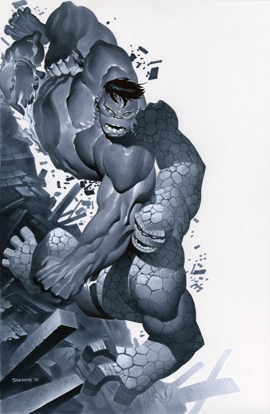Hulk vs Thing