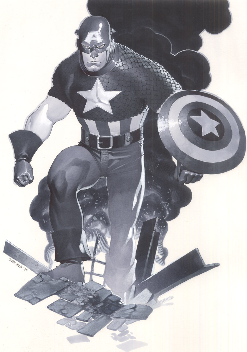 Classic Captain America by ChristopherStevens