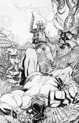 Skaar 3 cover by ChristopherStevens