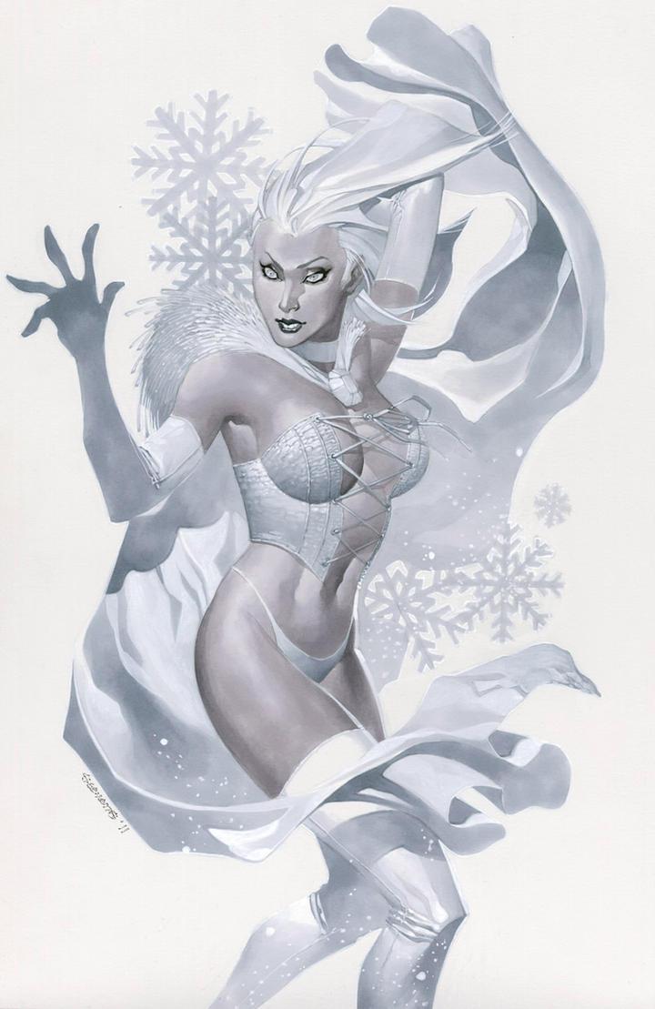 Emma Frost returns by ChristopherStevens
