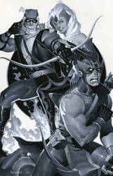 Hawkeye's in trouble by ChristopherStevens