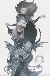 Goblin Queen by ChristopherStevens