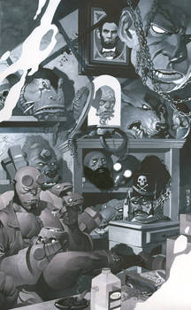 Hellboy's Trophy Room
