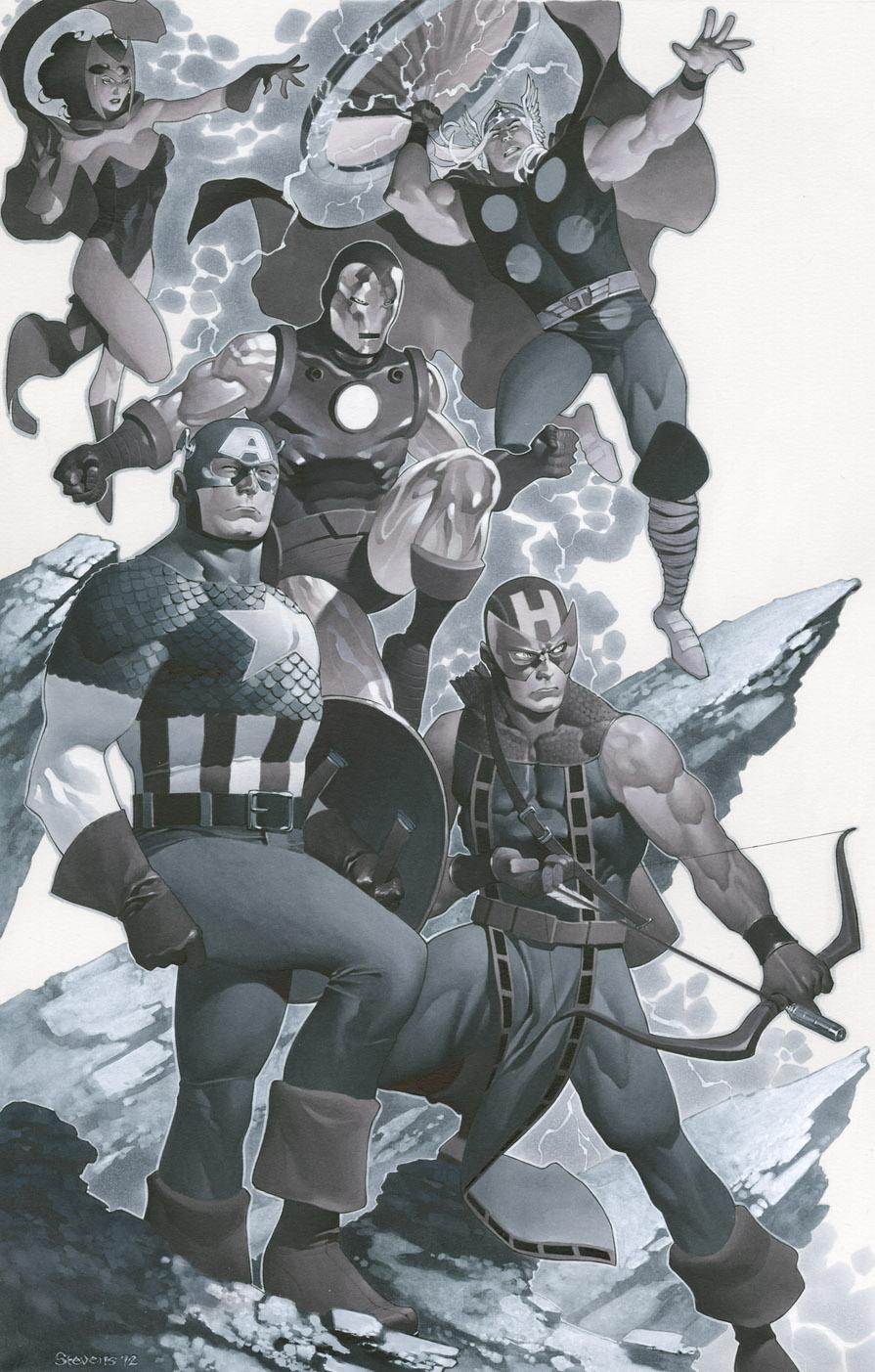 The Avengers by ChristopherStevens