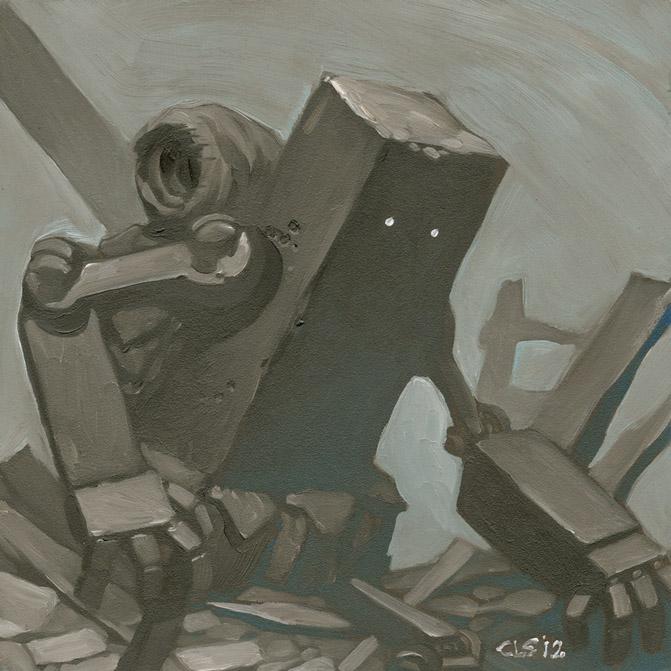 Bot oil painting 1 by ChristopherStevens