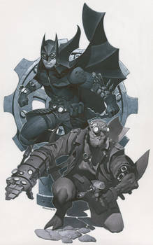 Batman and Hellboy