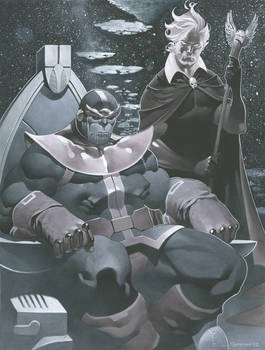 Thanos and Warlock final small