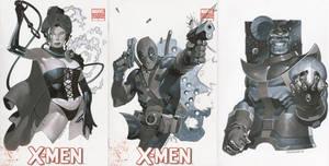 Sketch Covers 1 Thru 3