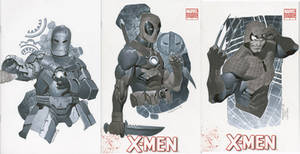 Sketch Covers 5 Thru 7
