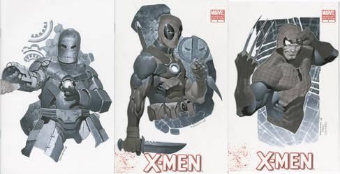 Sketch Covers 5 Thru 7