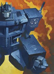 Optimus by ChristopherStevens