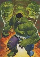 Hulk transforms oils