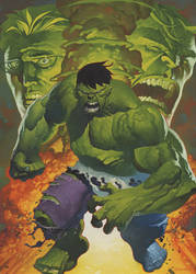 Hulk transforms oils by ChristopherStevens