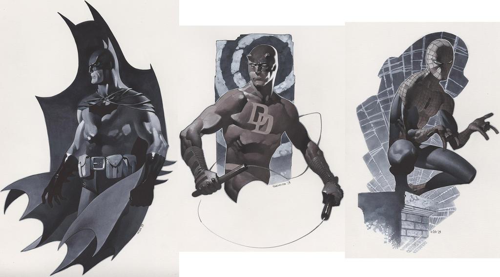 Bats Devil and Spider by ChristopherStevens