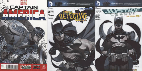 Sketch Cover Set 1