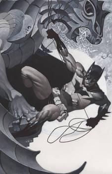 Batman Under Gargoyle
