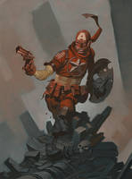 Captain of the Wastelands by ChristopherStevens