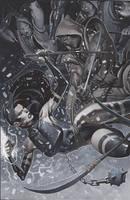 Psylocke by ChristopherStevens