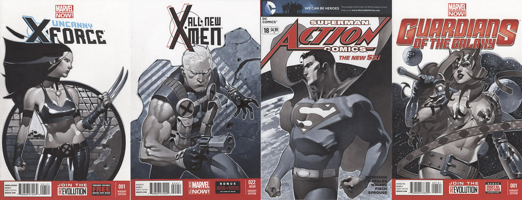 Sketch Cover Set 4