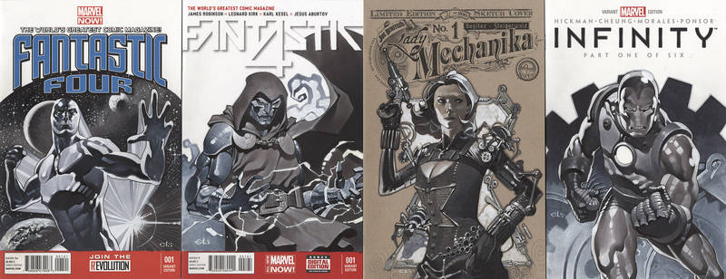 Sketch Cover Set 5