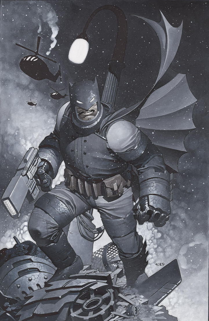 Dark Knight Returns by ChristopherStevens