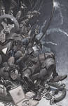 Deadpools Iron Throne by ChristopherStevens