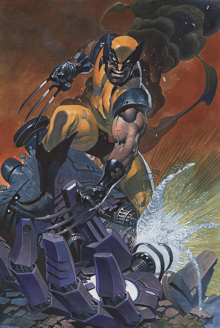 Wolverine color by ChristopherStevens