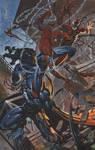Spidey Batlles Venom and Carnage