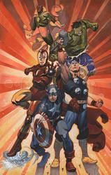 Avengers Assemble by ChristopherStevens