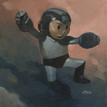 Mega Man by ChristopherStevens