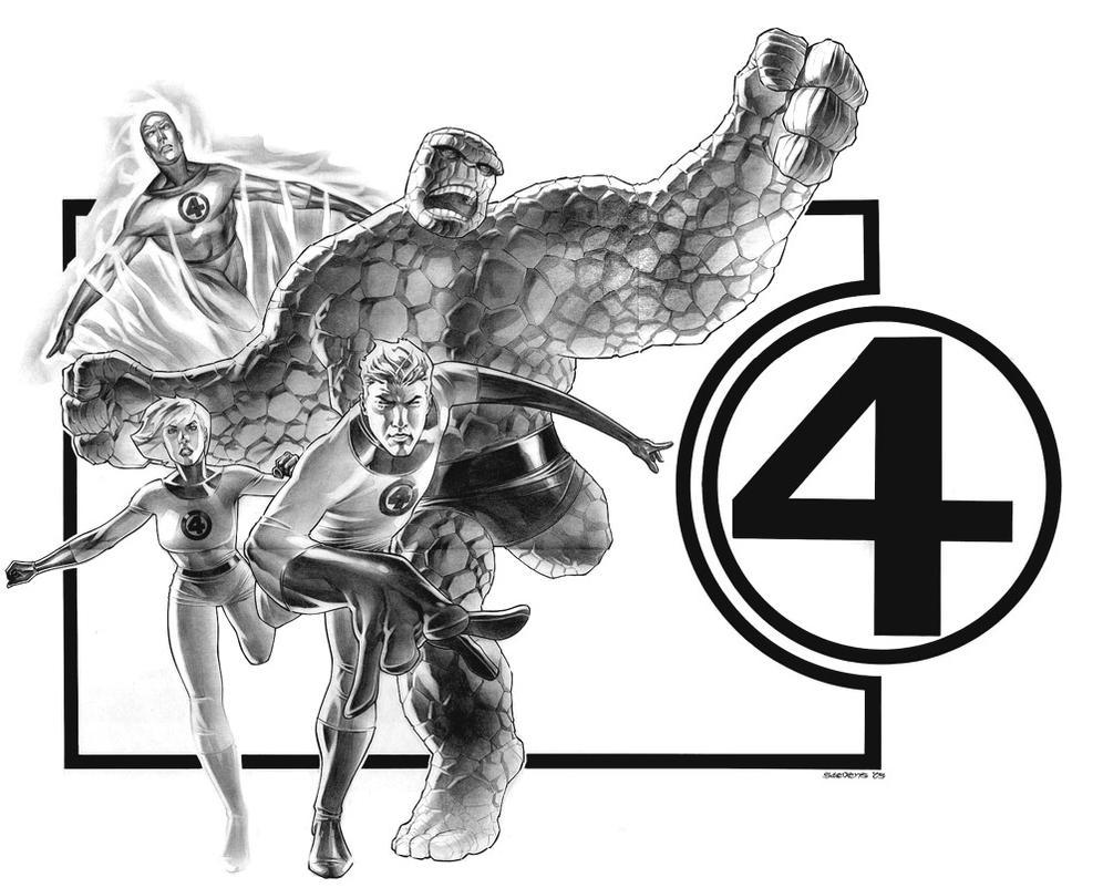 fantastic four by christopherstevens on deviantart