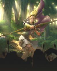 Elven Archer by ChristopherStevens