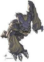 Nightmare Creature 1 by ChristopherStevens