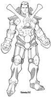 Exalted 2nd Ed - Exoskeleton by ChristopherStevens