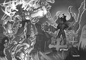 Exalted 2nd Ed- Bonestrider by ChristopherStevens