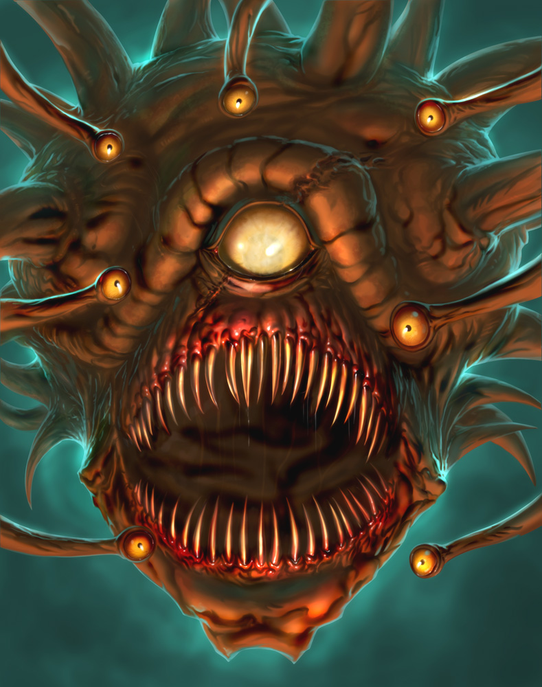 Blind Beholder by ChristopherStevens on DeviantArt