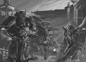 Warcraft- Orc Capital by ChristopherStevens
