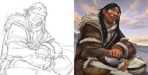 Inuit - Aguk Agjuk